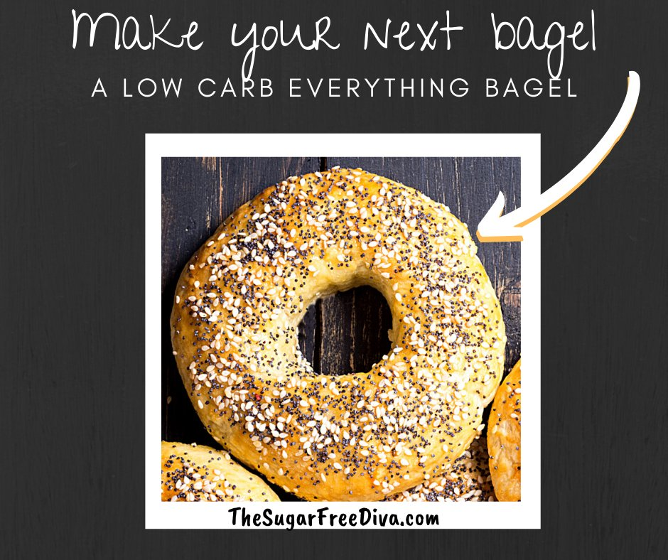 Make your next bagel low carb and Weight Watchers Friendly!! Here is how> https://t.co/CgTD8G0eVt #lowcarb #recipes #weightwatchers  😎👍💃 https://t.co/bfpFa8qjlt