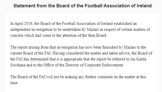 Full statement here