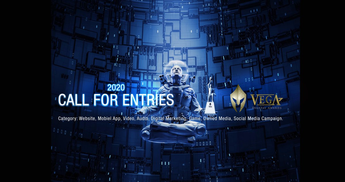 2020 VEGA Digital Awards Curtain Closing On Entries TONIGHT: June 25, 2020 (Thursday)  Will yours be in the mix with the very best? Enter now: https://t.co/O8sJY7oTtk  #vegaawards #vegadigitalawards #website #websiteawards #websitedesign #digitalmarketing #video #games #animation https://t.co/wtNs5fEduG
