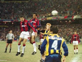 Hace 25 años en Rosario grité este gol con toda mi alma, me abracé con el Flaco Guercetti y Silvio Tomasini en la popular visitante y cuando llegue al Hotel Riviera le conté a @tomaslamas que éramos campeones, él tenía 6 meses pero se reía igual. 💙❤️💙 https://t.co/ZDWcfHRx73