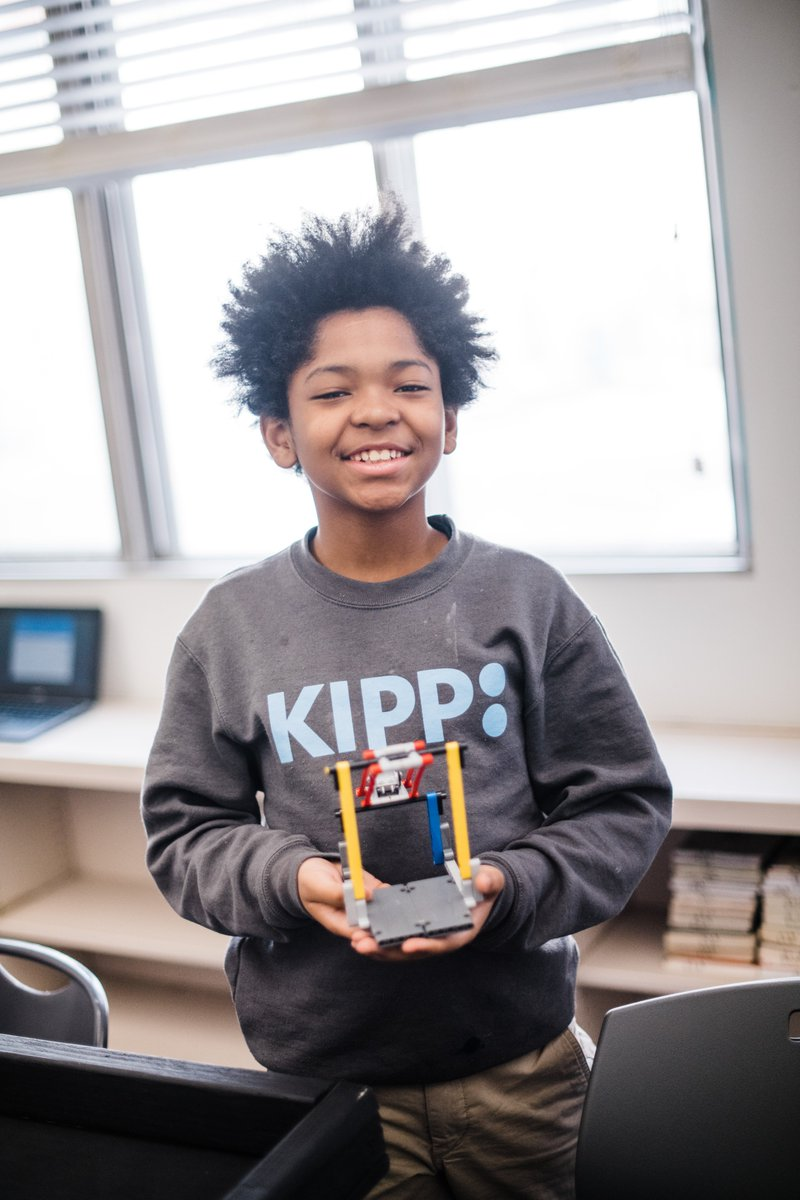 Did you know studying computer science helps develop critical thinking skills and foster creativity? At KIPP, we offer students the opportunity to learn computer science & robotics! Set your child up for success in college, career & beyond. Enroll today! kippminnesota.org/enroll