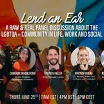 🌈Thank you to all the incredible speakers that joined @Captify's 'Lend an Ear' virtual Pride panel today. It was inspiring to hear the panelists share their honest advice & own experiences as part of the LGBTQA+ community. Happy #Pride 🥳