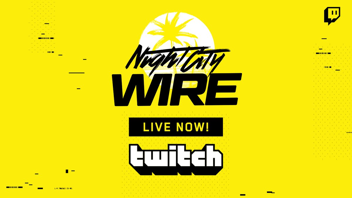 We're live with the first episode of Night City Wire!  Jack in now at https://t.co/cBU8yS6pfc 🦾  #Cyberpunk2077 https://t.co/XTke7AzsBV