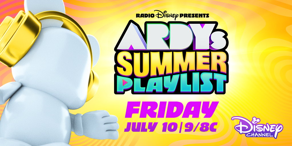 🚨BIGNEWS🚨Radio Disney Presents#ARDYsSummer PlaylistTV Specialis comingJuly 10as part of @DisneyChannel's biggest night of music! Hosted by @LauraMarano withspecial performances and appearances from@Sia,@maddiezeigler, @kenzie, @BrentRivera, @SabrinaAnnLynn & more!