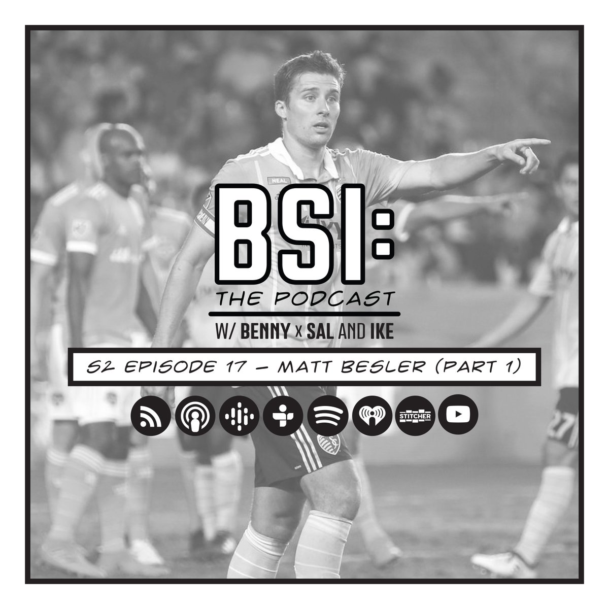🚨 NEW EPISODE🎙S2 E17 | Matt Besler (PART 1) 🔗https://t.co/eAaGAuxXWl  🗣@MattBesler  joins the gang to talk about his early days in @SportingKC, the ups and downs with the @USMNT, and who he almost got traded to in @MLS. https://t.co/SO9Azg8pWI