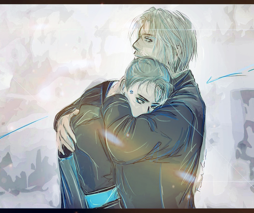 #DechartGames #prompt 25 The best #hug you can receive is the hug of #lieutenant #hank #anderson! He really deserve this good ending. Hank you're the best dad of ever #DetroitBecomeHuman #dbh #connor #rk800 #ConnorArmy #bryandechart #ameliaroseblaire #clancybrownpic.twitter.com/YhTzUatzKh