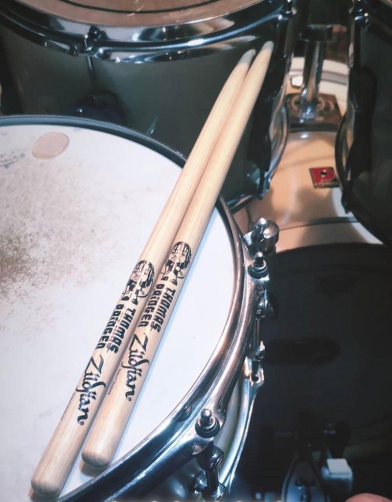 What's your favorite Artist Series Stick from Zildjian?   Riccardo Vandelli uses @thomaspridgen's stick model.    #ZildjianSticks https://t.co/ScWpUTN0Yv