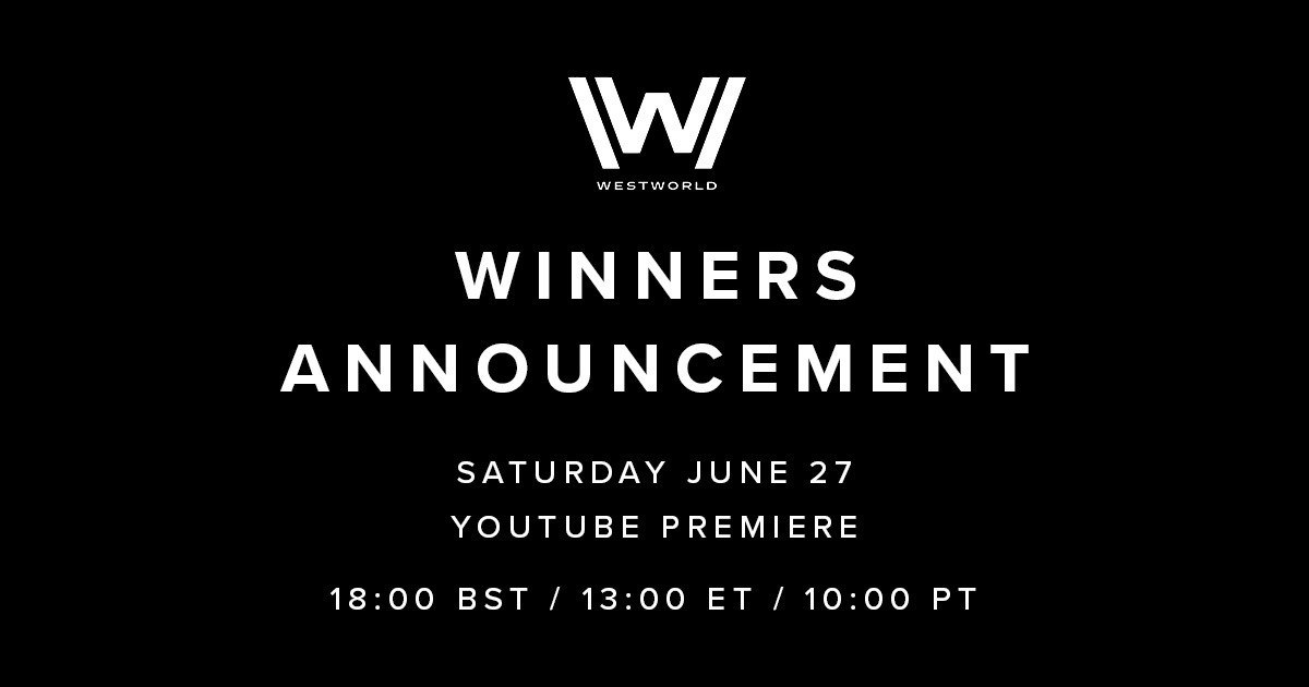 In just 2 days, we will announce the Winner and Runners-Up of the @westworldhbo Scoring Competition! Tune in on YouTube at 18:00 BST / 13:00 ET / 10:00 PT this Saturday to find out who our all-star judging panel selected.  Could it be you?   Subscribe: https://t.co/M6YJqDTcgX https://t.co/nheNEb9ugl