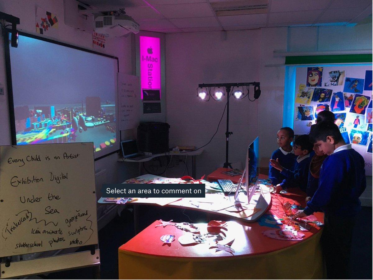Every Child is an Artist! #exhibition #digital #community #collaboration #hope #empowering #academy #imagination #enjoy #equality #visualarts #OasisCreativeWeek @OasisAcademies @OasisCommunityLearning