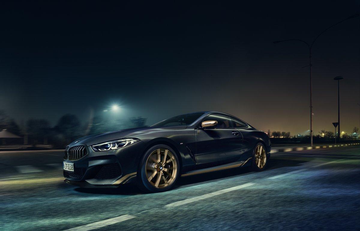Aussi exclusive qu'extravagante 😎 Revisitée par le programme de personnalisation BMW Individual, la BMW Série 8 Golden Thunder Edition sera disponible à 1 seul exemplaire en France. https://t.co/LmXNSenlVM