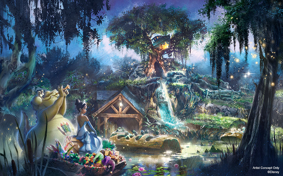 "We're thrilled to share Splash Mountain at @Disneyland & @WaltDisneyWorld will be completely reimagined with a new story inspired by an all-time favorite @DisneyAnimation film, ""The Princess and the Frog."" Learn about what Imagineers have in development: https://t.co/HyKfdDSH3j https://t.co/DV6476KAVX"
