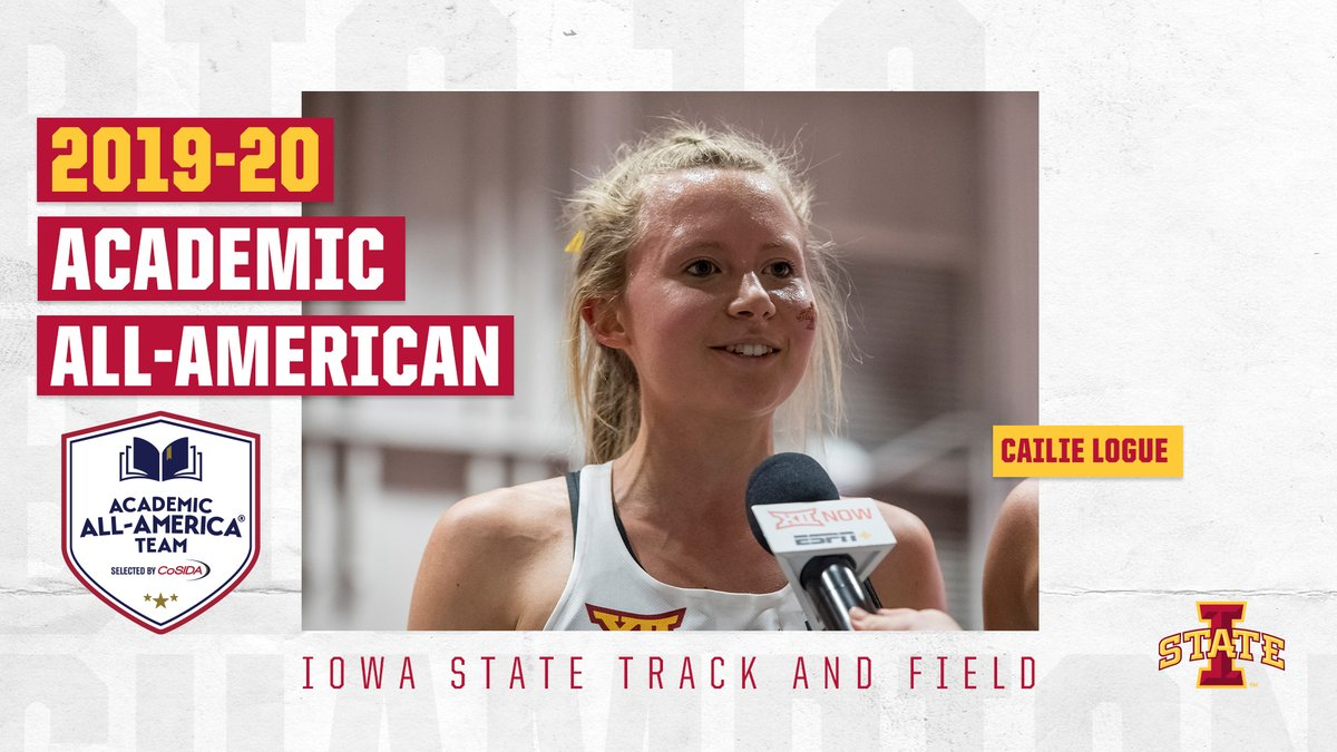 Congrats to Cailie Logue & Thomas Pollard on earning @CoSIDAAcadAA Academic All-America Honors!  📰 | https://t.co/cky5v2yFGm  #CycloneSZN #Run4ISU https://t.co/4hJDJBcabs