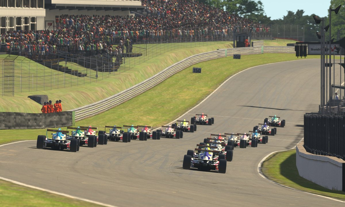 With just over 90 minutes until we go green at @Brands_Hatch, were excited to find out this weeks winners. We want to know who you think will win so comment below and tell us your Round 3 predictions. 🤔 #WSeriesEsportsLeague