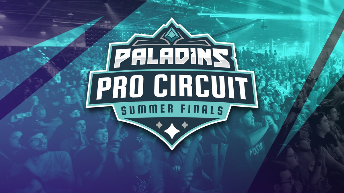 Tomorrow their battle for the title of Champion begins in our Paladins Summer Finals!⚔️ 🏆@Parallax_gg 🏆@SanguineEsports 🏆@teamd69 🏆 Team Project 🏆 @CGCarnageGaming 🏆 @SelestialGG Mark your calendars - the action kicks off at 1:00pm ET on twitch.tv/PaladinsGame!