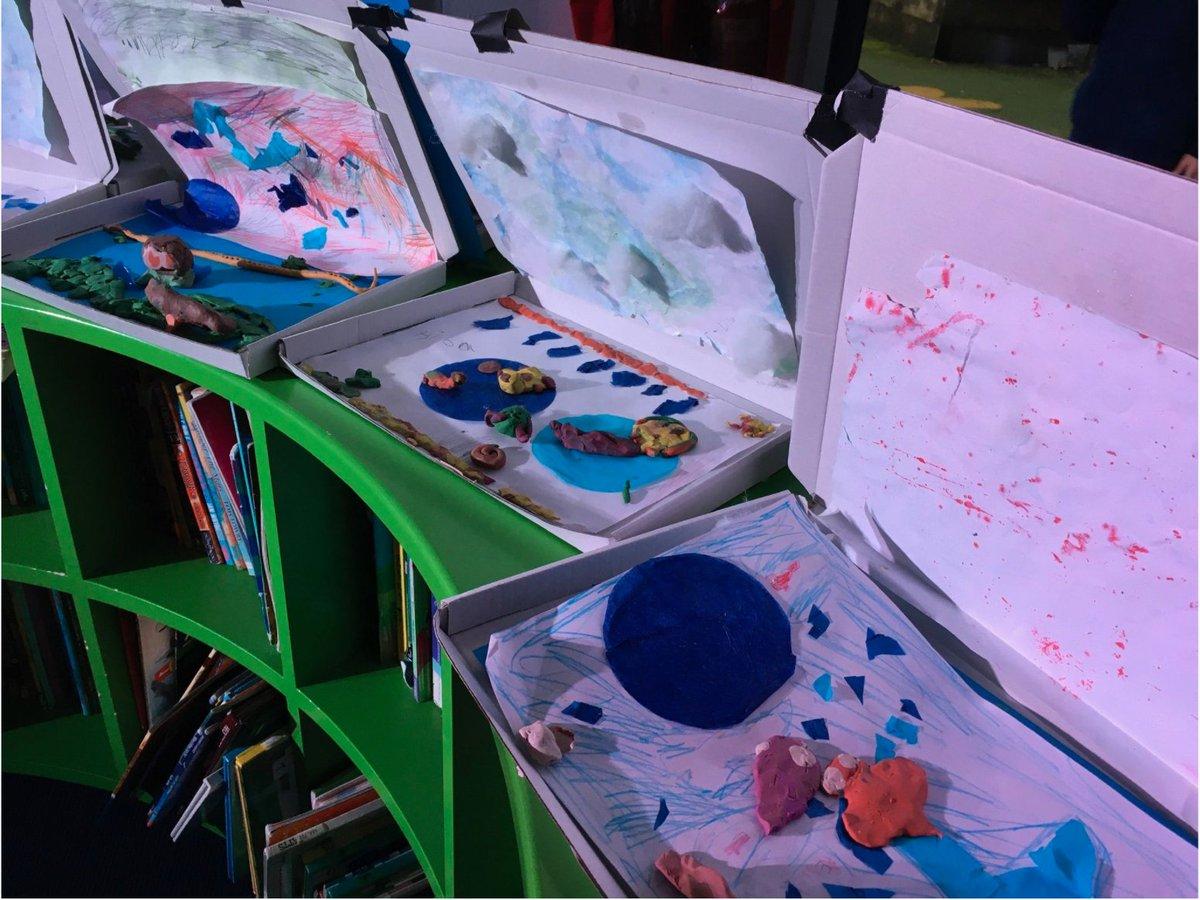 Collapsible #ocean floor scenes #creativity #texture #paper #colour #empowering #enjoy #art #aspire #together #community #primaryschools #OasisCreativeWeek @OasisAcademies @OasisCommunityLearning