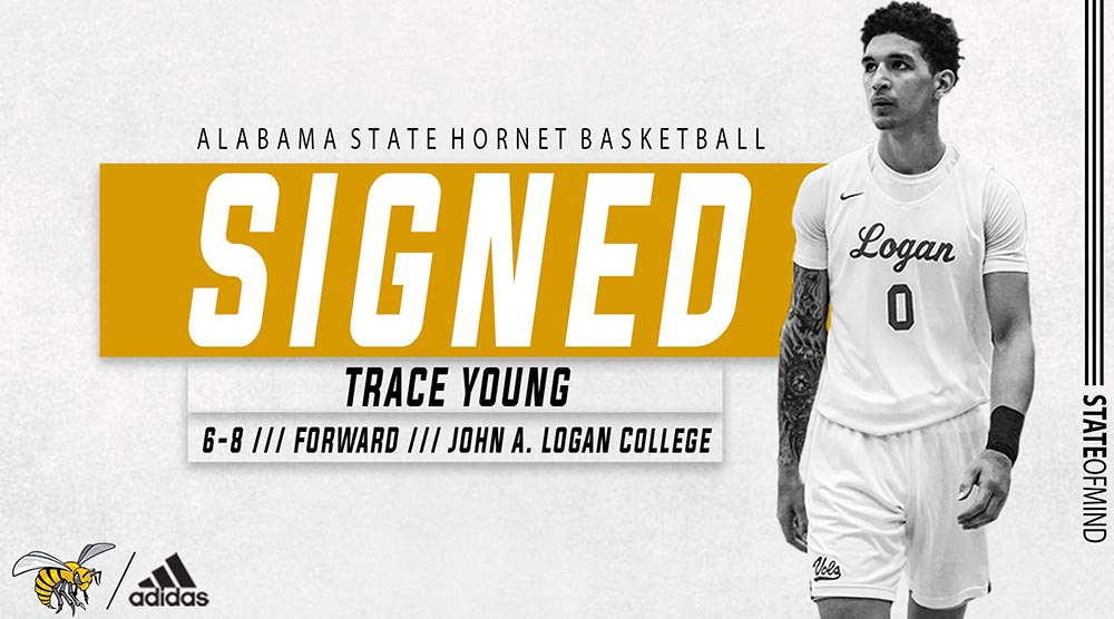 .@mowilliams adds John A. Logan College forward Trace Young (@TraceYoung1) for the 2020-21 season  Welcome to Hornet Nation ‼️  #STATEofMind https://t.co/Fg9NNj3U3Z