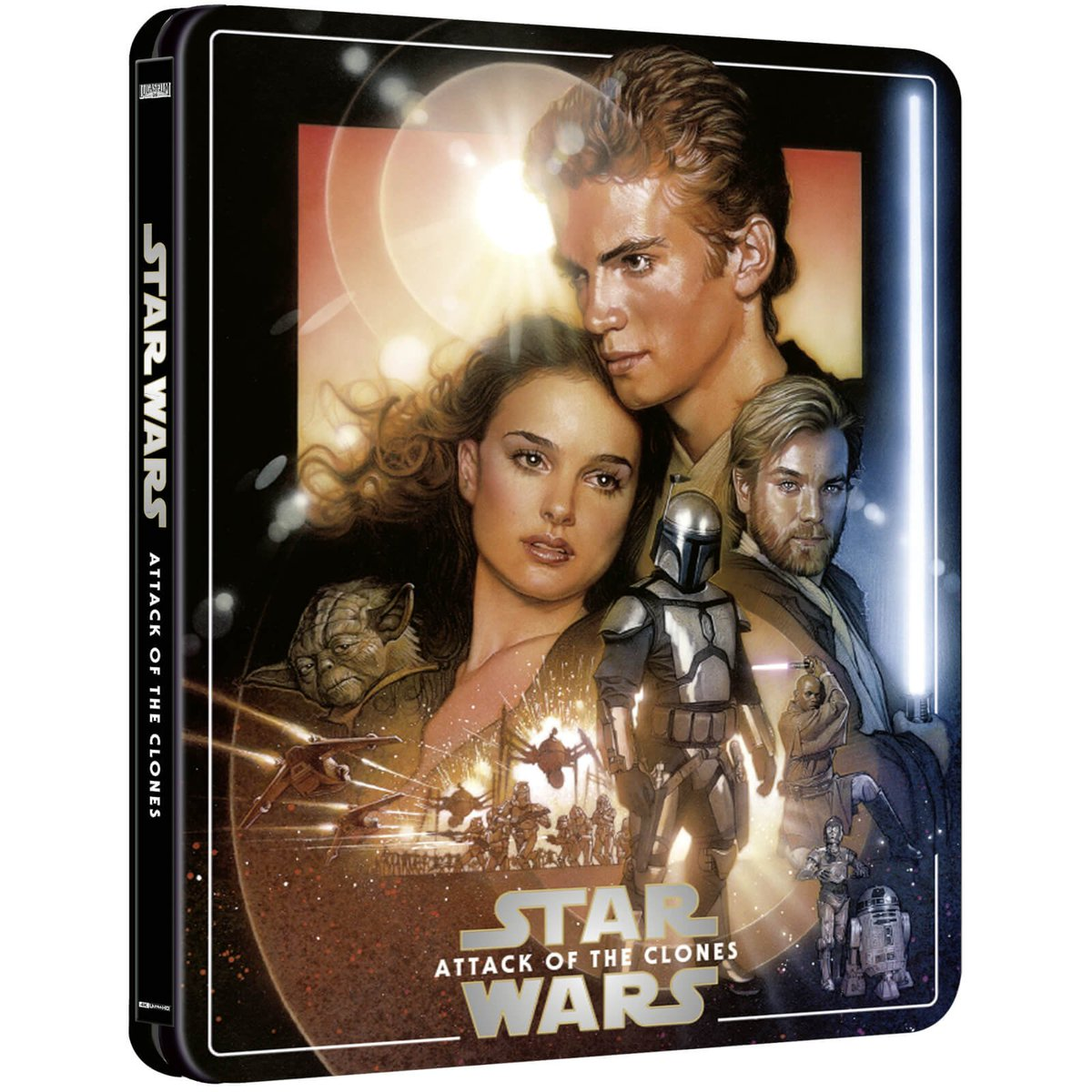Ultra Hd Blu Ray On Twitter Star Wars Episode Iii Revenge Of The Sith 4k Ultra Hd Blu Ray Steelbook Edition 3 Discs Including Uhd Bd Https T Co U0qqddveux Https T Co Eg3qnlspyu