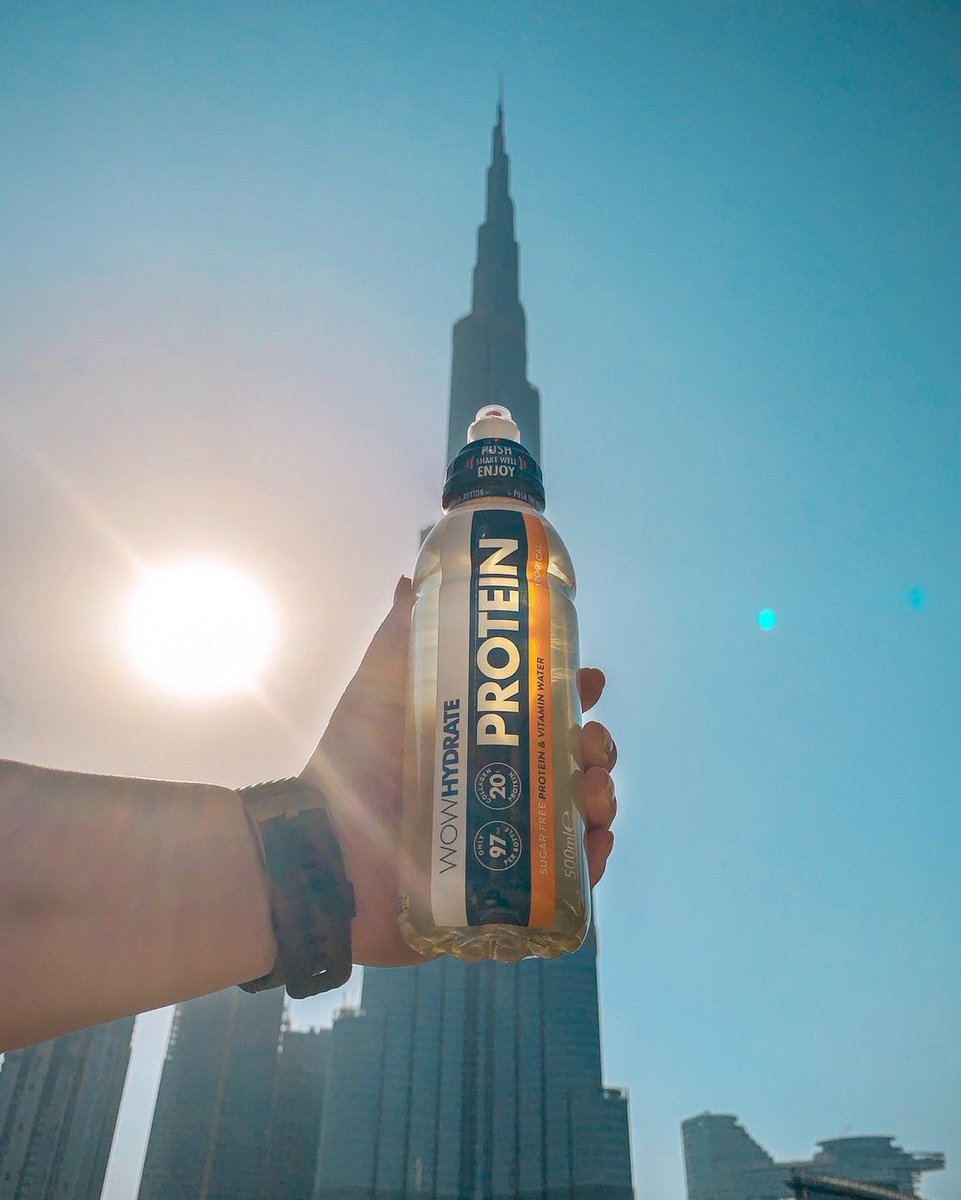 Our Electrolyte and Protein waters are now available across the GCC with @dawsonsportsme: United Arab Emirates, Saudi Arabia, Qatar, Oman, Kuwait and Bahrain #PushIt https://t.co/Sm1TUZjo9V