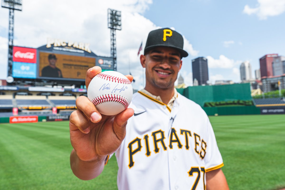 RETWEET THIS now for a chance to win a baseball signed by our first-round draft pick Nick Gonzales! https://t.co/5BoHWun3ZT