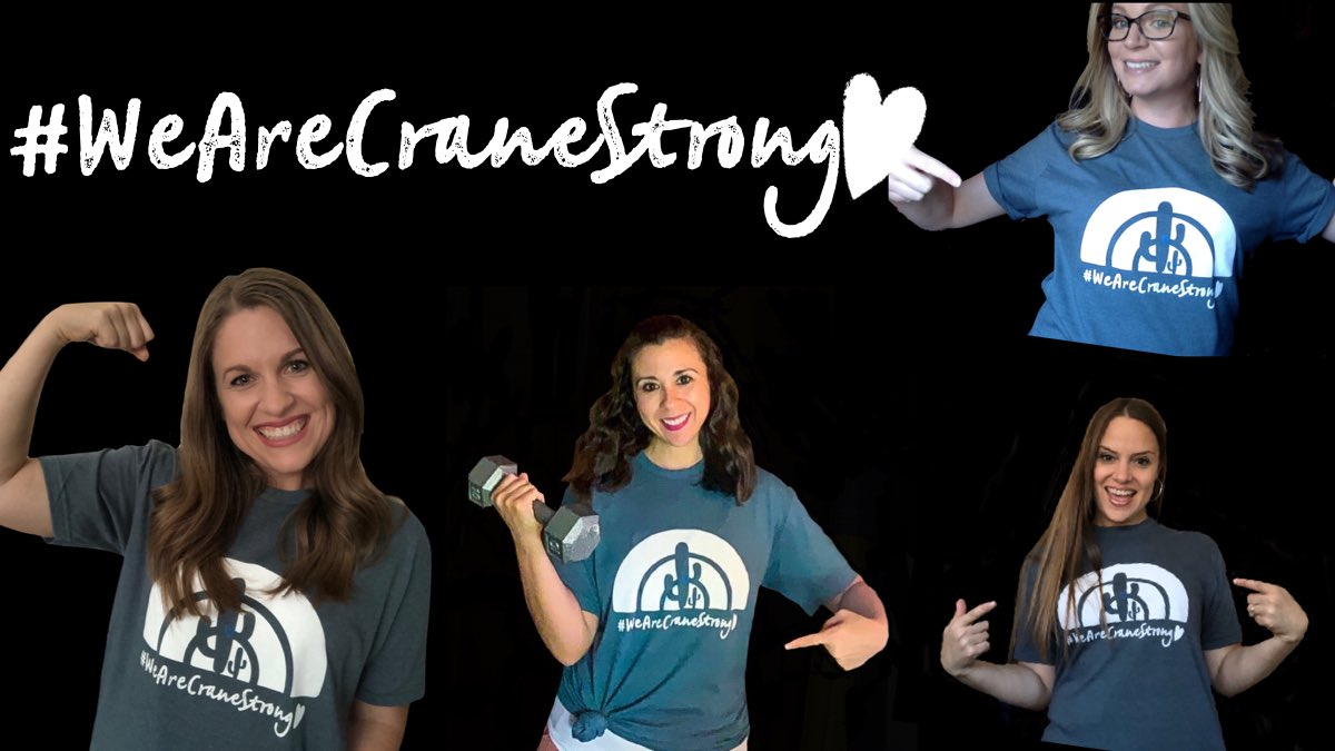 We are feeling like we are over due for a #CraneGiveAway #WeAreCrane do your thing!  Nominate a Crane employee that deserves a #WeAreCraneStrong T. Tag them and let them know how special they really are.  We will give away 5 t-shirts via lottery.<br>http://pic.twitter.com/tkbP59Wy6L – à Crane School District Office