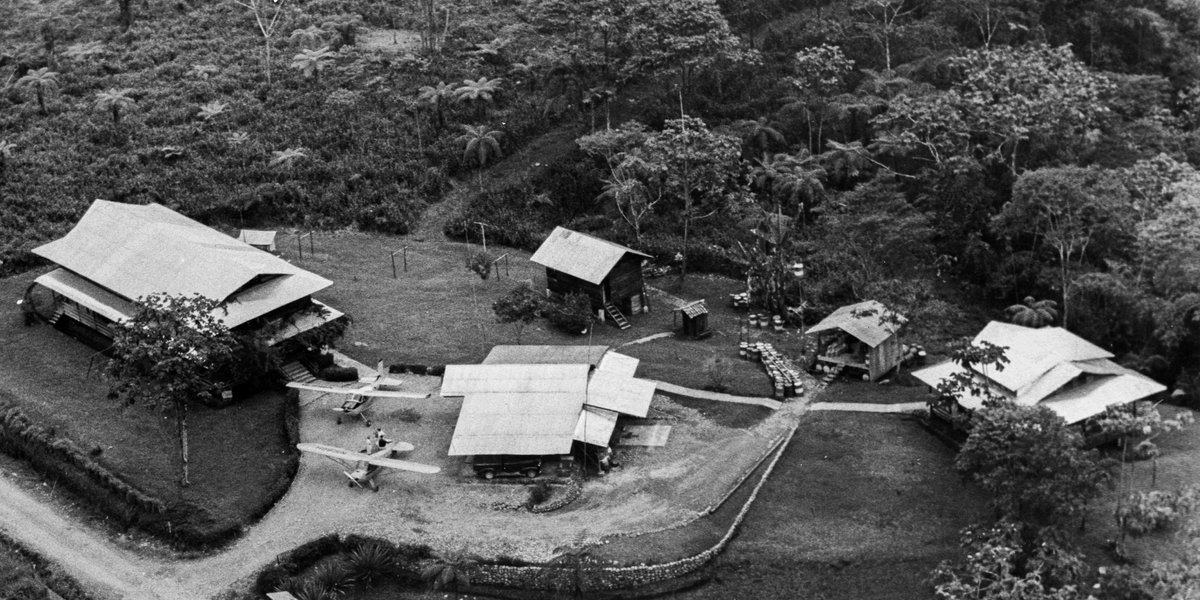 Take a look at what one of our bases in Ecuador used to look like #iflyMAF #75YearsofMAF