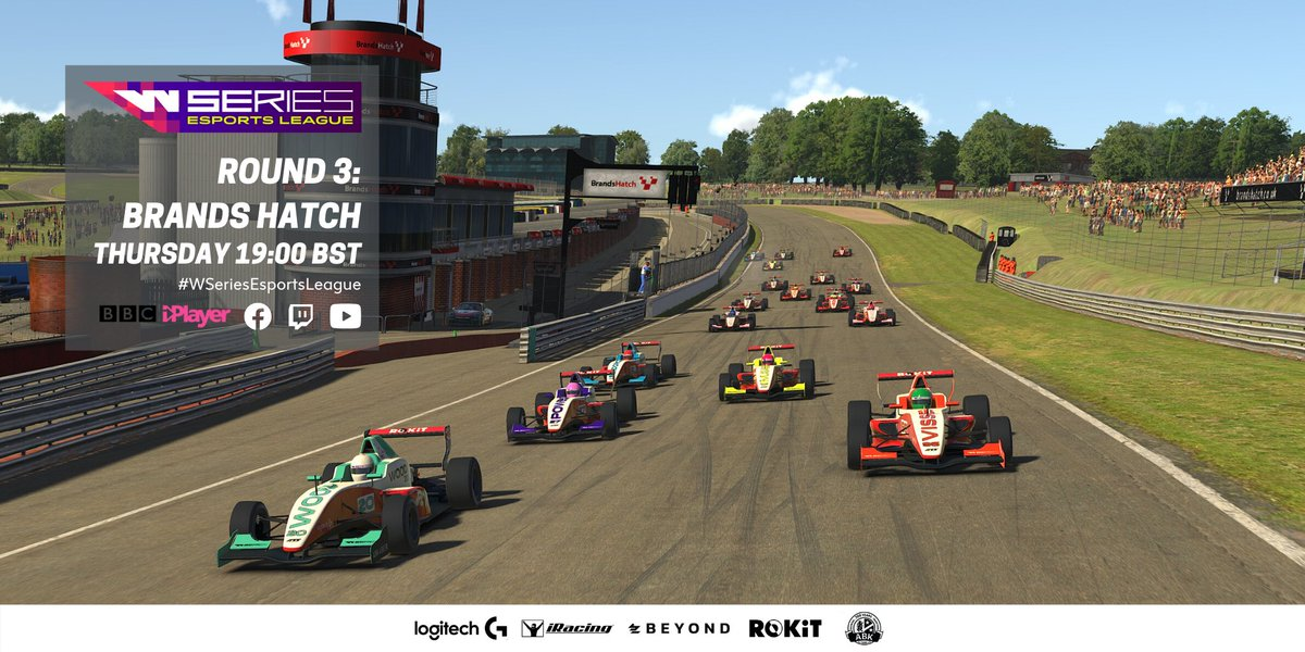 Courtesy of the new @WSeriesRacing Esports League, 20 drivers face one of the UK's most famous circuits, Brands Hatch. Who will be crowned queen of the circuit? LIVE right now! 🏎️ - fb.gg/wseriesracing