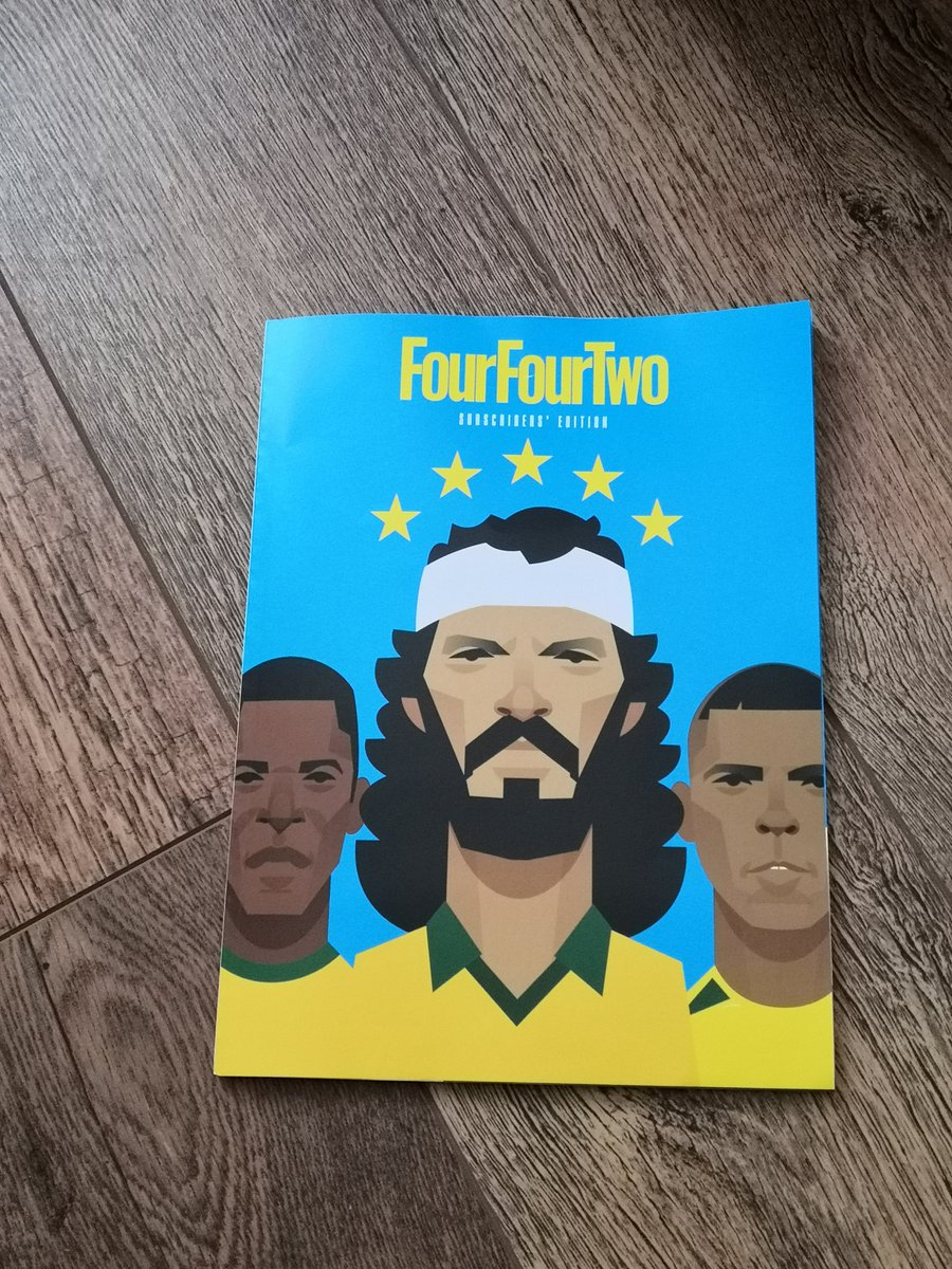Got to say, the latest @FourFourTwo cover by @stan_chow is superb