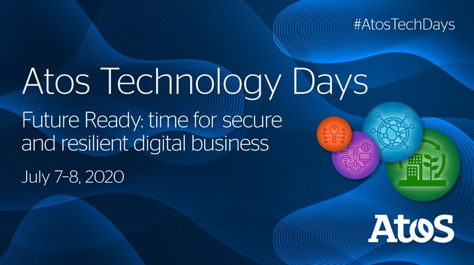 It's D-1?2? before the Atos Tech days! 2 days devoted to technology and innovation in...