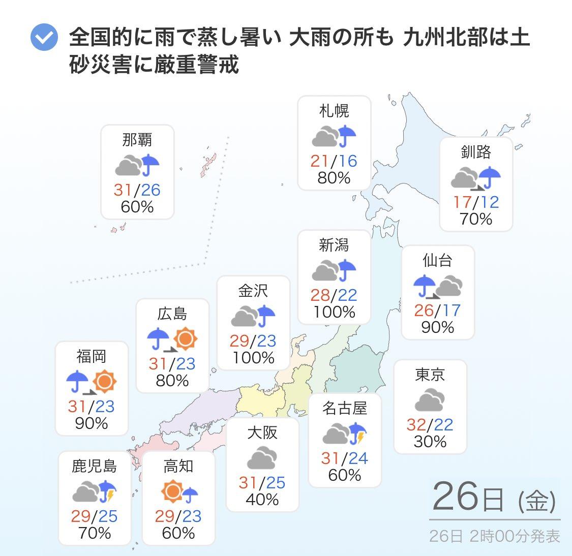 梅雨明け 2020 長崎