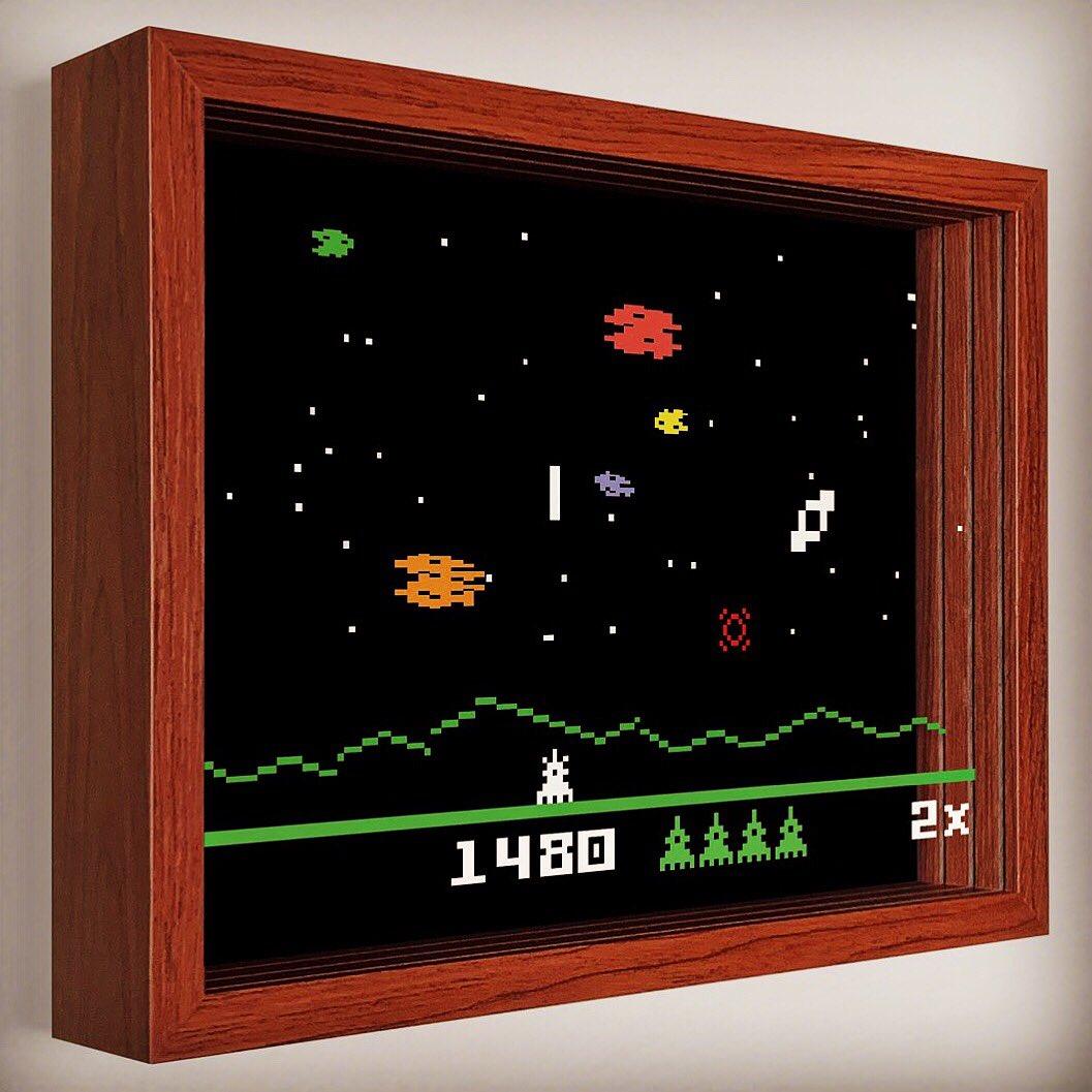 Astrosmash! by @Intellivision https://t.co/wm9mryqQJe #art #artwork #intellivision #shadowbox #videogames #game #space #asteroid #3d #8bit #defender #aliens #atari #spaceinvader #gamer #gamerlife #gamerguy #gamergirls #fun #retro #1980s https://t.co/GgGjYGFP6b