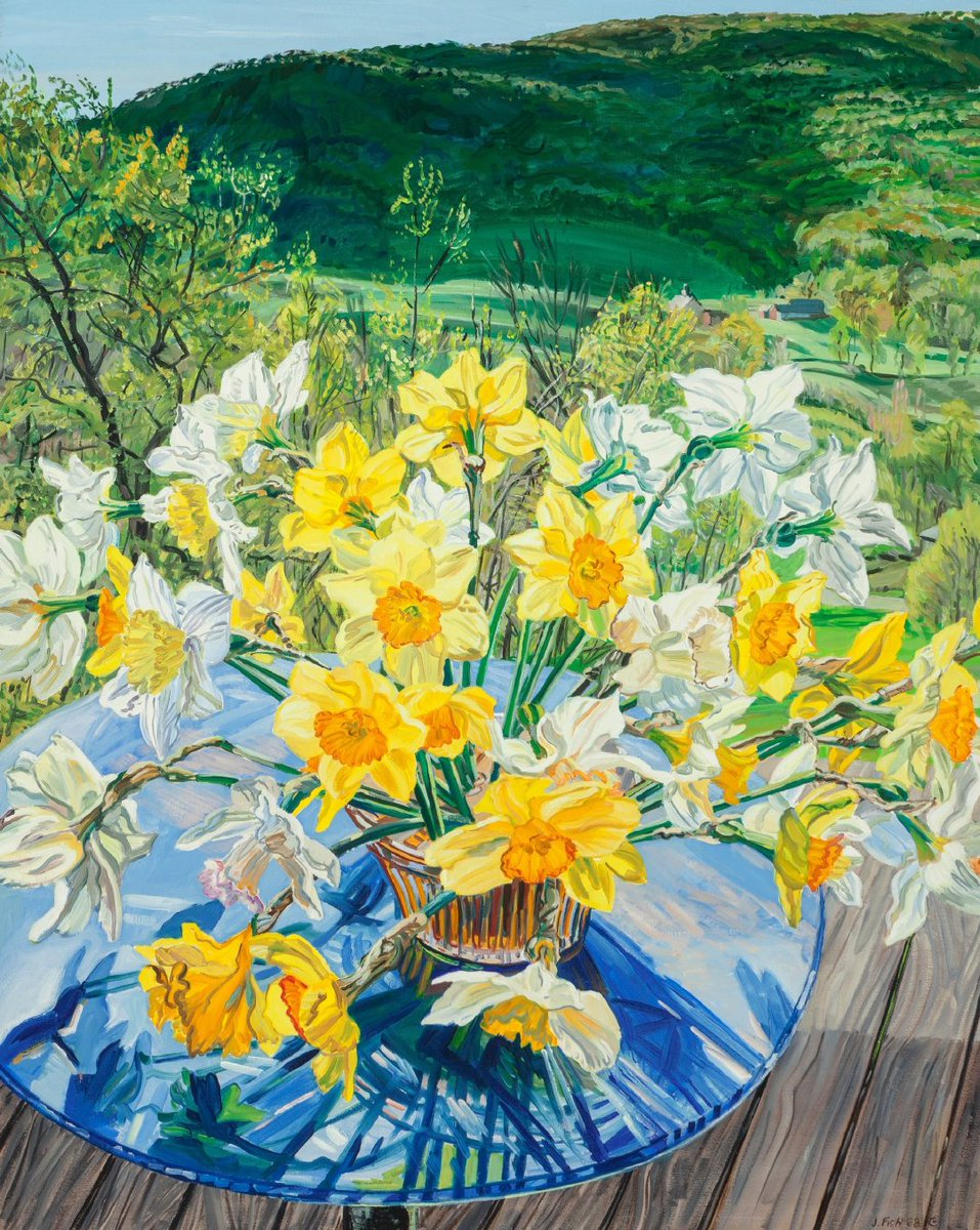 💐🌹🌷🌸🌼 American painter Janet Fish