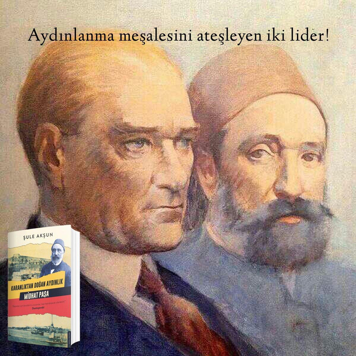 Bu ülke aydınlara atılan taşlarla inşa edilmiştir. Mithat Paşa'dan Atatürk'e tüm aydınlanmacılar ülkelerinin ilerlemesi için canlarını bile feda etmekten çekinmemişlerdir.Mithat Paşa'ın hayatını,yaptıklarını roman dilinde,soluk soluğa okuyacağınız bir roman ile karşınızdayız https://t.co/LBnMPIyZLq