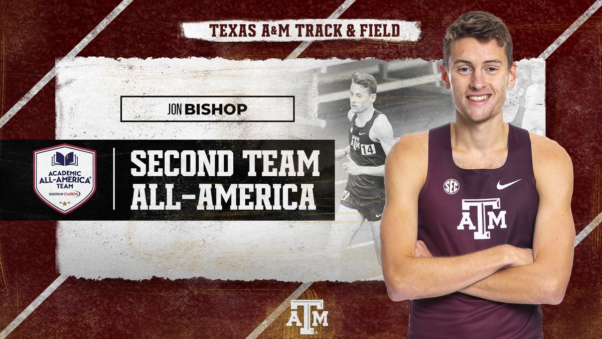 🚨 𝐍𝐞𝐫𝐝 𝐀𝐥𝐞𝐫𝐭 🚨   What a year for @the_realJB97, time to add @CoSIDAAcadAA to the resume.  🎓  B.S. Applied Mathematical Sciences 🏆  SEC Scholar Athlete of the Year 🥉  SEC 3000m All-Conference   📰  | https://t.co/rKOD3ZJV4Z  #GigEm https://t.co/KgLs2DGXhP
