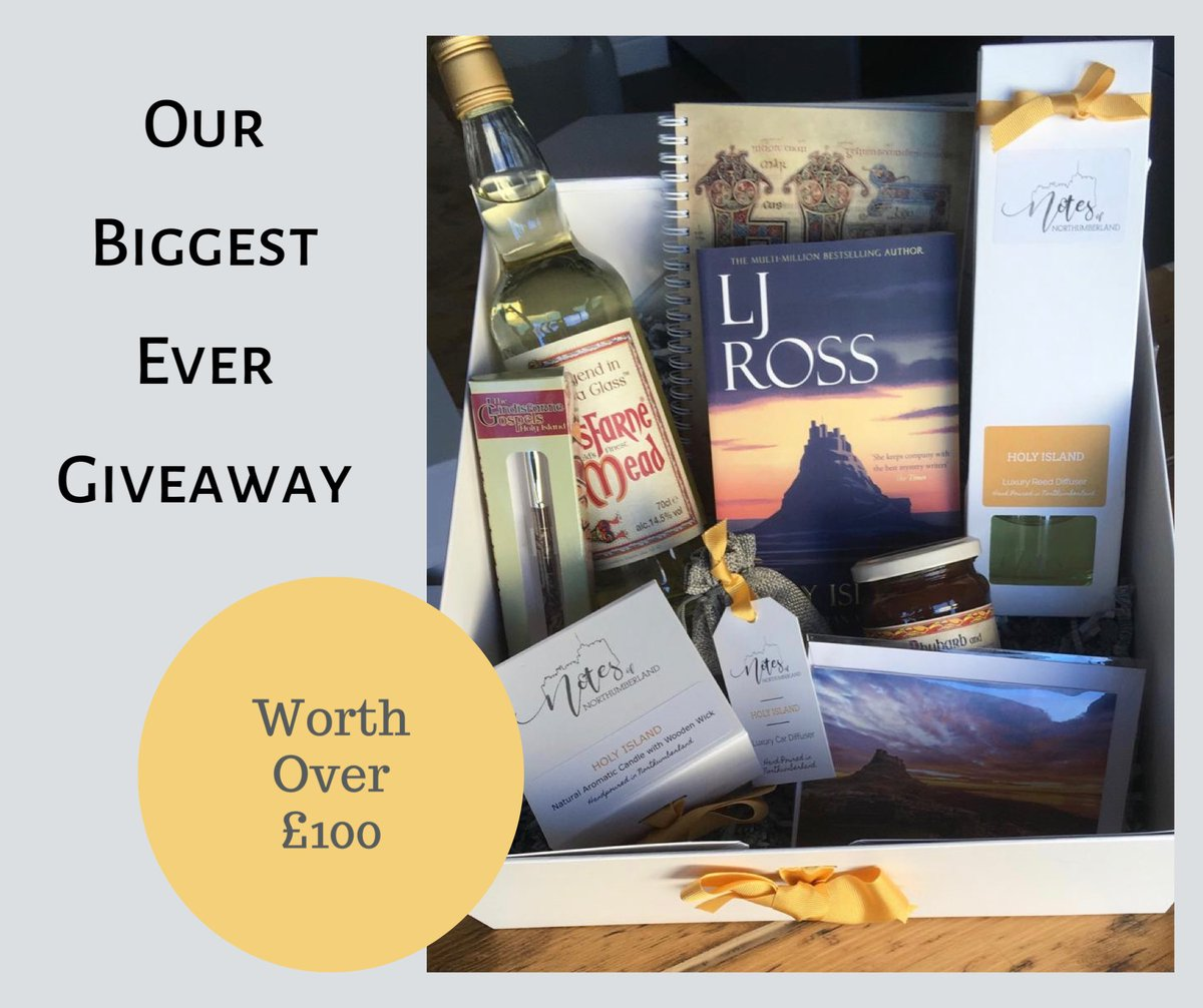 We are running our biggest giveaway to date, inspired by one of our favourite parts of Northumberland. To be in with a chance of winning follow these steps: 1) Follow Us 2) Retweet This Post 3) Comment your favourite thing about Holy Island