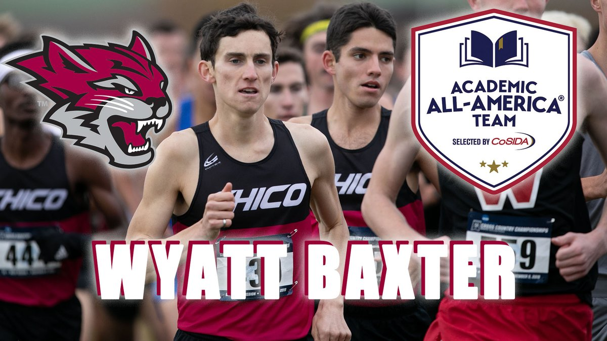 Seven @NCAADII XC student-athletes in the nation earned All-America honors in the fall and @CoSIDAAcadAA honors  for 2019–20. @ChicoState's Wyatt Baxter is one of them!  #Elite #ChicoUKnow!  https://t.co/zyJQ2FYWkV https://t.co/VXvohbXkT1
