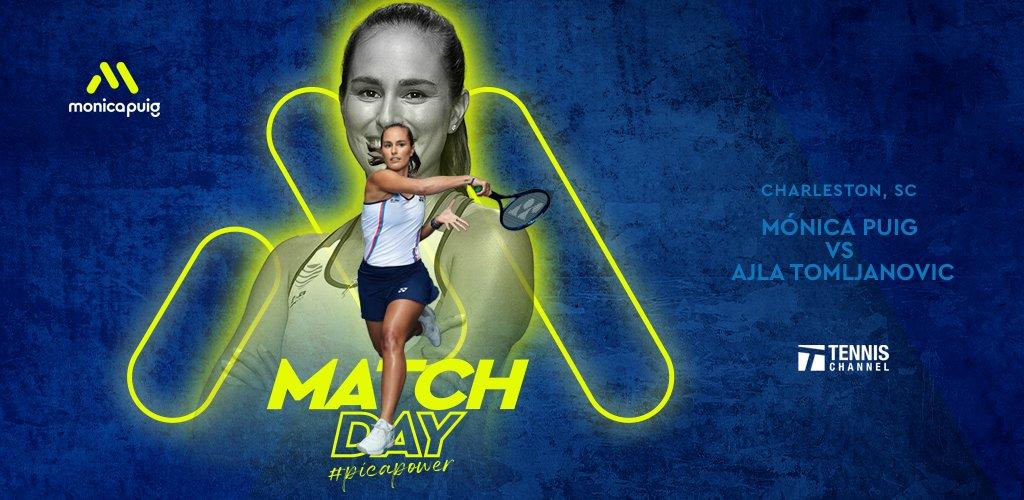 MATCHDAY! Tune in @TennisChannel today 🎾 #PicaPower https://t.co/DXWLdz54iE