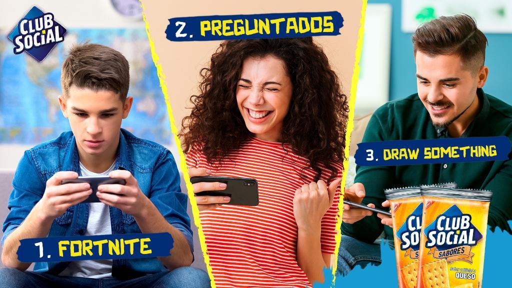 Les tenemos 3 juegos divertidos para descargar en el celular y disfrutar con amigos. Etiquétalos y que empiece el juego 🎮 https://t.co/22RsiukqzU
