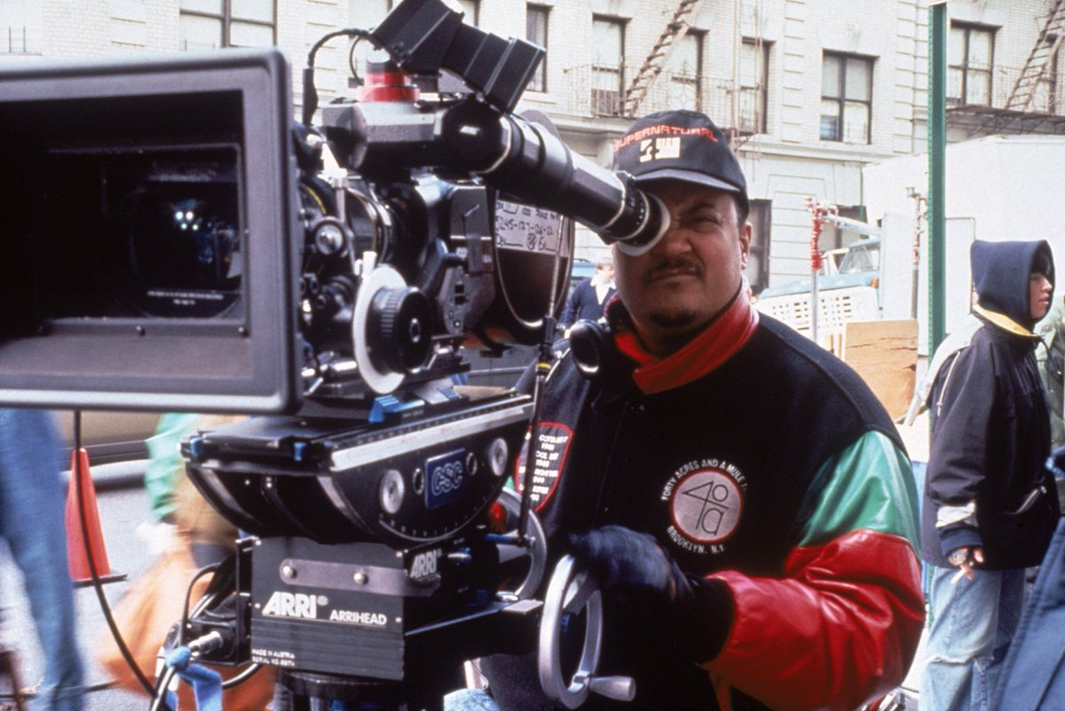 Wishing a happy birthday to Ernest Dickerson! Seen here on the set of Juice (1992).