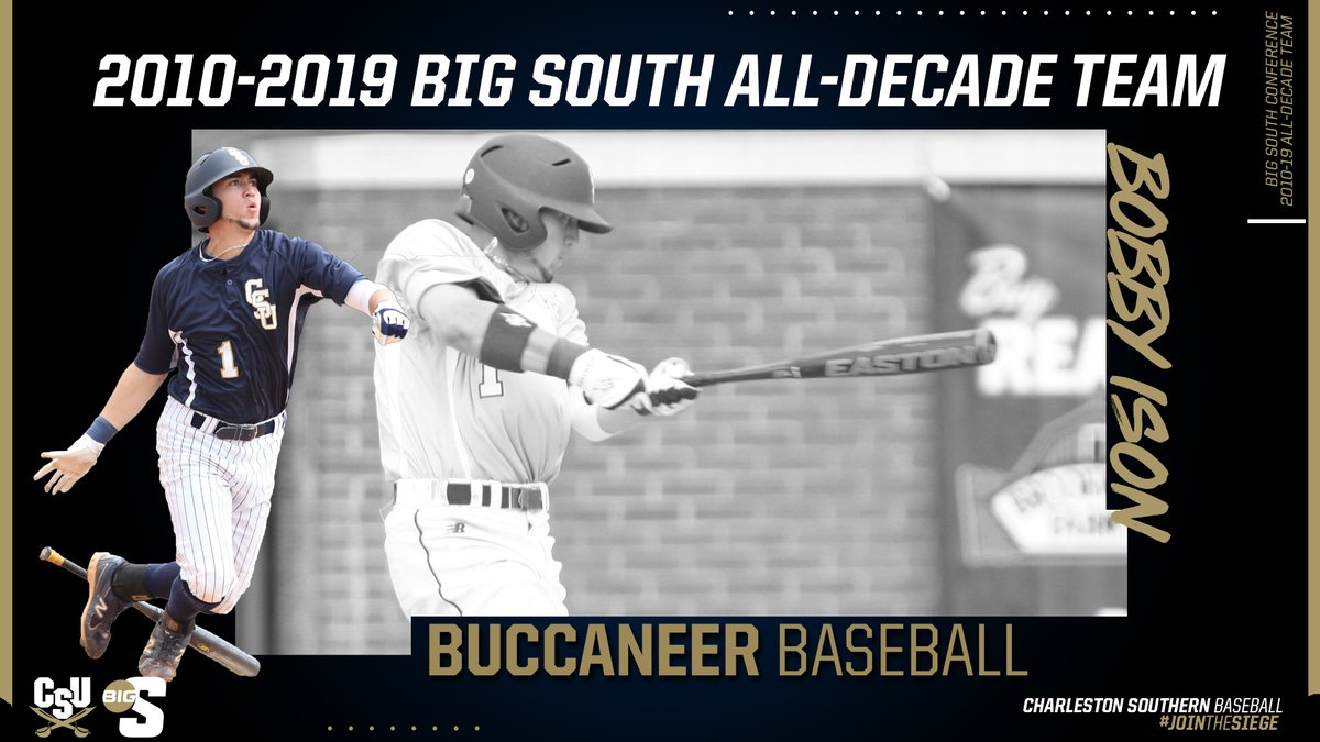 Congratulations to @BobbyIson1 on being named to the #BigSouthBASE 2010-19 All-Decade team presented by @HerculesTires  #JoinTheSiege https://t.co/Ui5LQtIxPS
