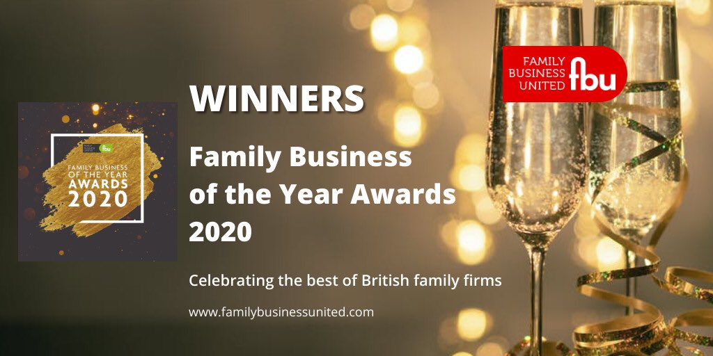 Congratulations to the regional winners of the Family Business of the Year Awards #FBOTY2020 in the South and South West @wykefarms Double winners too https://t.co/xstxTsAke5