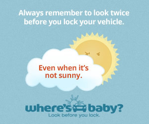 On average, 39 children under the age of 15 die each year from heatstroke after being left in a vehicle. In 2018, a record number of 53 children died after being left in a hot vehicle, which was closely followed in 2019 with 52 deaths. Always remember to look twice.