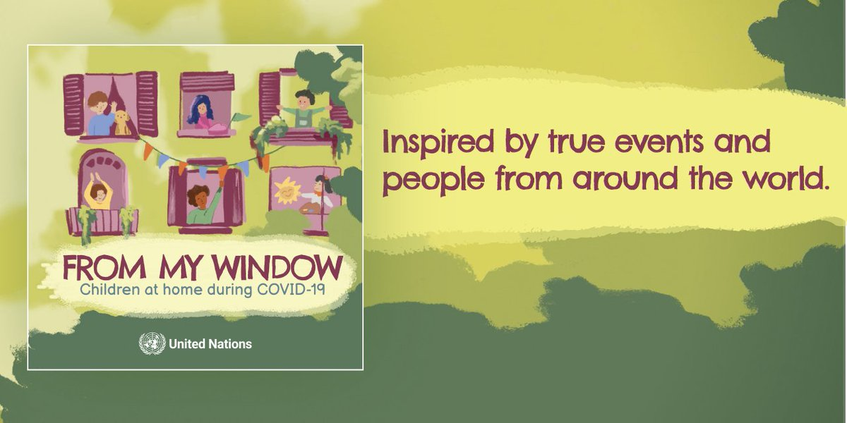 Looking for a way to talk to your children about the #COVID19 pandemic while you stay at home? Check out our latest children's book #FromMyWindow, which shows that there are always ways to love and support each other, even during a global pandemic. bit.ly/2C1PWTX
