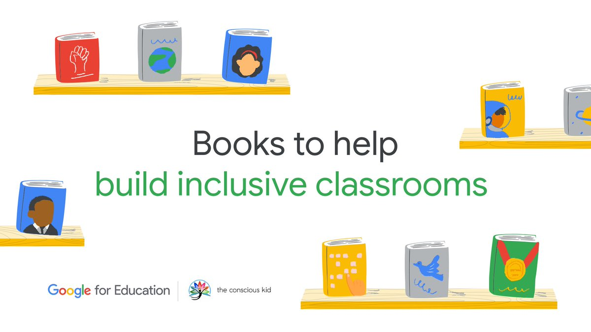 Books are practical and effective tools teachers and parents can use to affirm diverse identities. @GoogleforEdu teamed up with @consciouskidlib to curate a list of reading materials and evaluation criteria to help create more inclusive classrooms → https://t.co/l512aa1qAZ https://t.co/NcYCq0lk7y