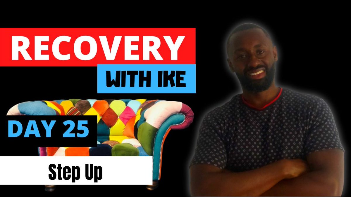 Day 25 - Step Up • #RecoveryWithIke.  #ChildOfGod #ChildOfGodTeam #ChildOfGodMovement #Recovery #Drugs #Alcohol #Gambling #StepUp #ThankYou #Blessed #Grateful #GodBless #GodsWill #Addiction #MyStory #MyJourney #Support #ReachOut #GetHelp #GetInTouch   https://t.co/Wi0J0P7vin https://t.co/bzIOCEz2WA