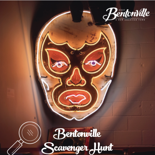 Week 7 of our Bentonville Scavenger Hunt is here!   To join in on the game Simply  Download the GooseChase Adventures app Make an account Search for Bentonville Public Art Scavenger Hunt game, or search for game code WKLX18  #visitbentonville #scavengerhunt #bentonvillear https://t.co/pY6yWD3LEZ