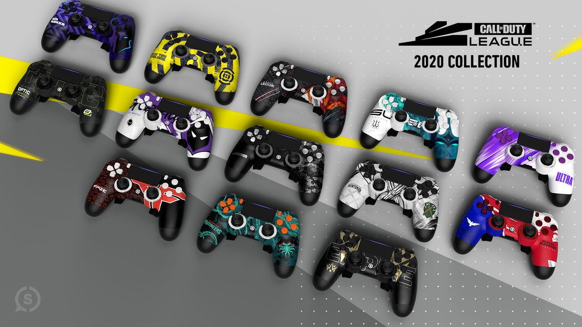 The @ScufGaming x Call of Duty League collection is now available! Dominate the competition with designs from your favorite Call of Duty pro team: scuf.co/callofdutyleag…