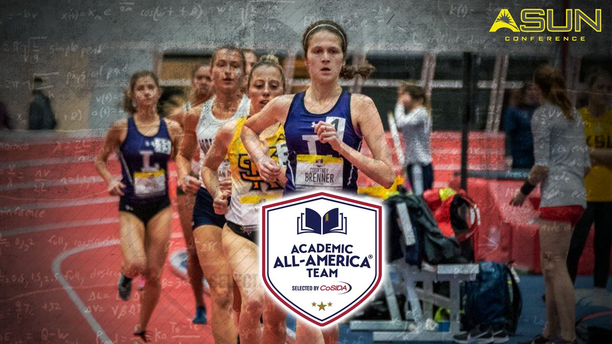 .@courtneyxctf  of @LipscombXCTF was named to the  @CoSIDAAcadAA Academic All-America Second Team‼️🔥  📰| https://t.co/ob8UlBWCZd  #ASUNBuilt https://t.co/zCEgUB6hE4