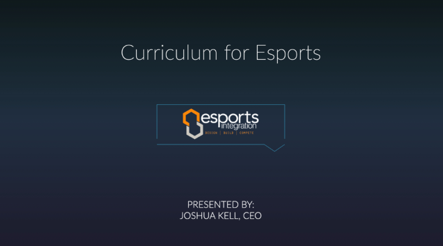 """Chatting about the """"Curriculum for #esports"""" with CEO of @horizonavl Joshua Kell. #SHIEduSummit https://t.co/pEOU1UwQ0Z"""
