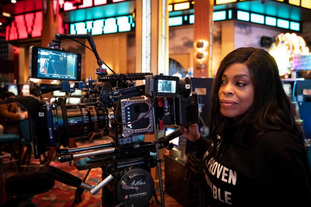 Just a #TBT reminder that @NiecyNash is a boss on the screen AND behind the camera. #ClawsTNT