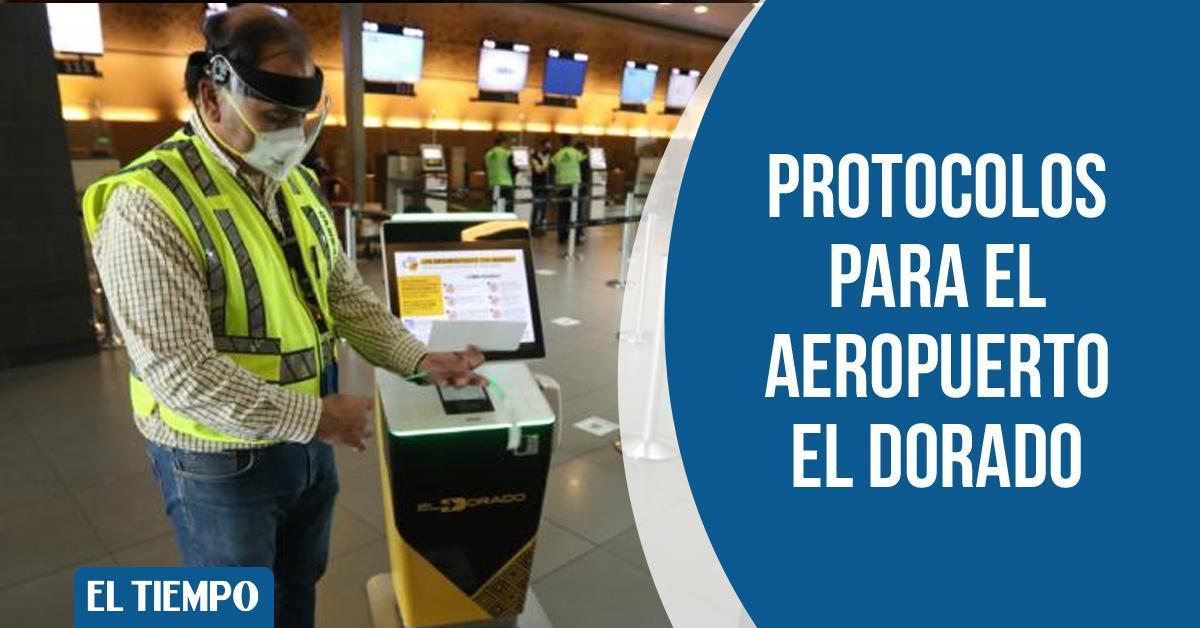 Así se está preparando el aeropuerto El Dorado de Bogotá para una eventual reapertura gradual de los vuelos comerciales 👉 https://t.co/xONtyFPbfG https://t.co/PHOzTYsmCE